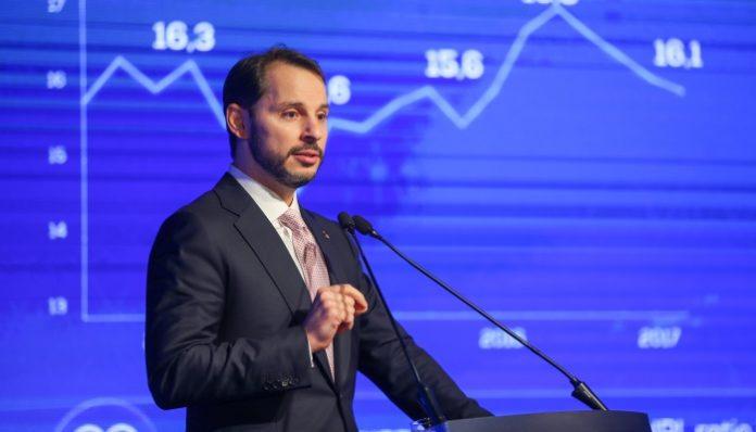 Turkish Treasury and Finance Minister Berat Albayrak